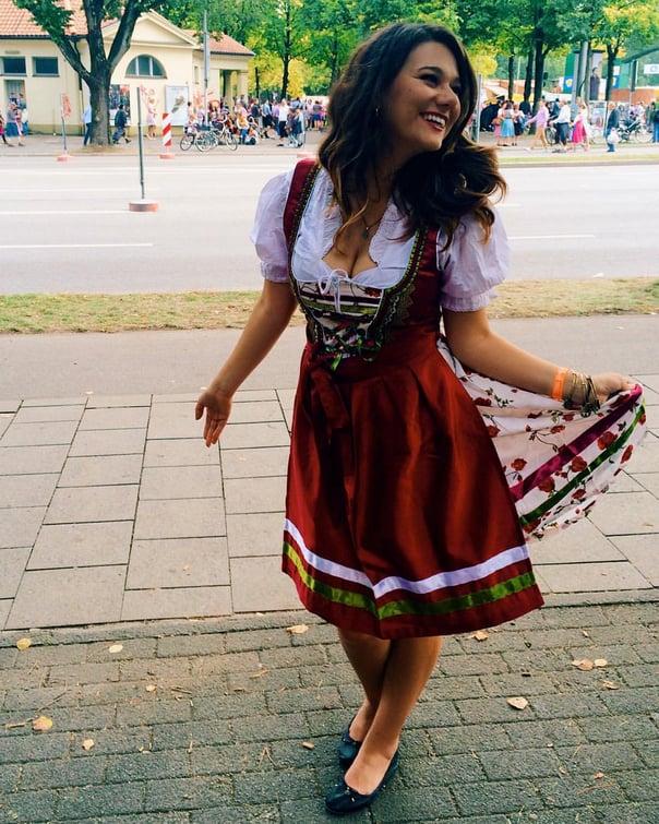 Lydia exploring Germany