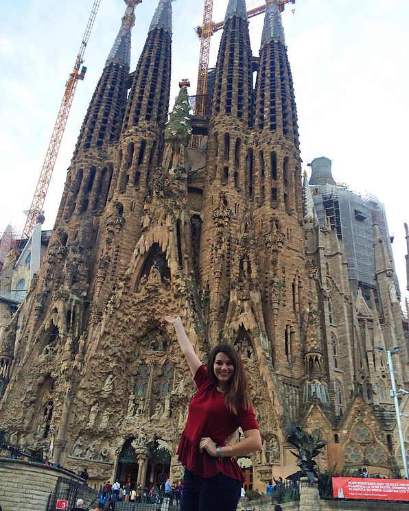 Lydia in Barcelona