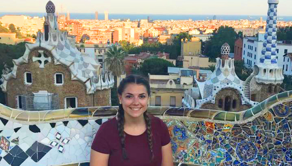 Angela H at Parc Guell