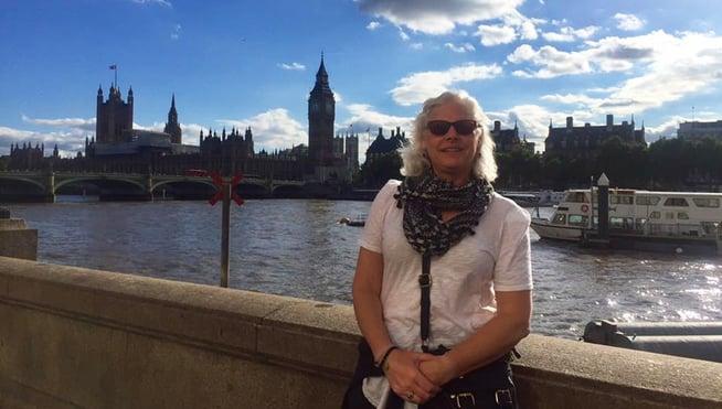 Anne Mackin in London