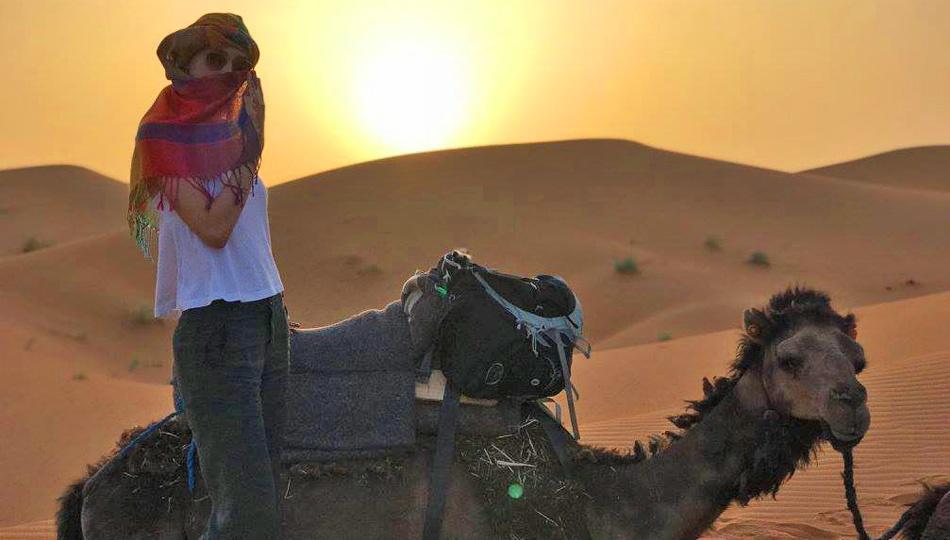 Barcelona Intern Visiting Morocco