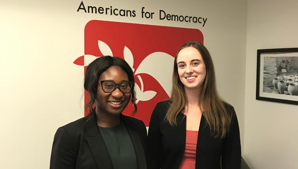 DC Intern - Americans for Democracy