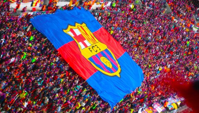 barcelona football fans