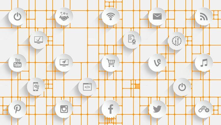 Digital Brand - Social Icons