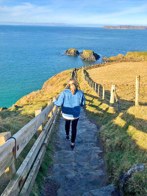 Dublin Intern Claire Howard exploring Ireland 2