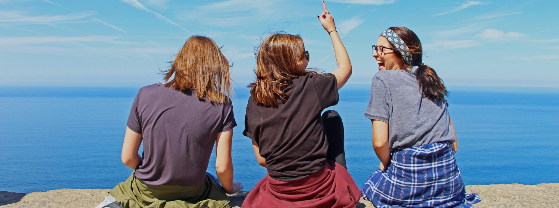 Dublin interns at Cliffs of Moher