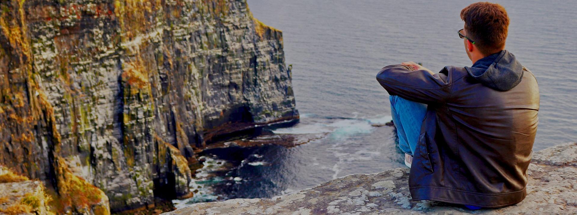 Dublin intern at Cliffs of Moher