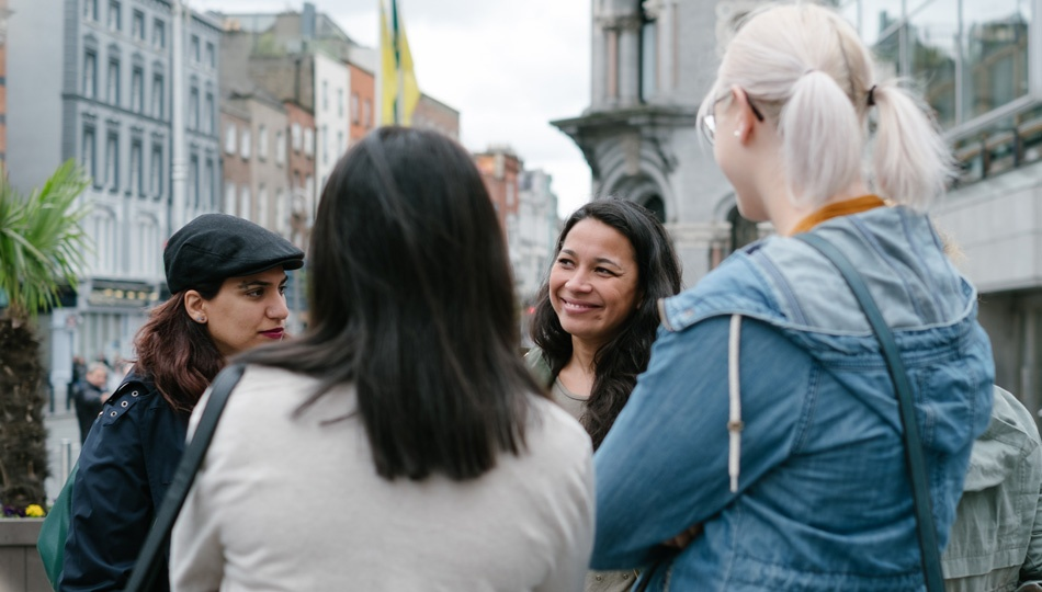 Dublin Location Coordinator with Interns