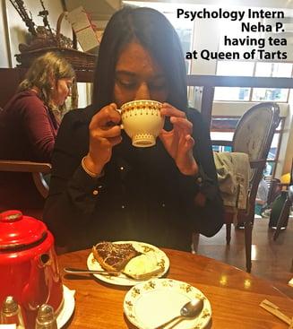 Dublin-intern-having-tea-at-Queen-of-Hearts