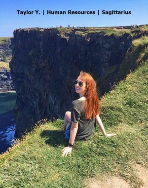 Dublin intern visiting Cliffs of Moher