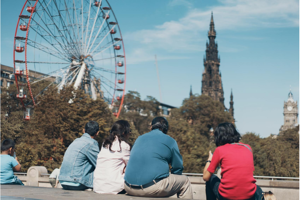 Students in Edinburgh
