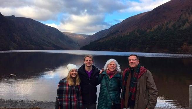 Mackin Family Traveling in Ireland