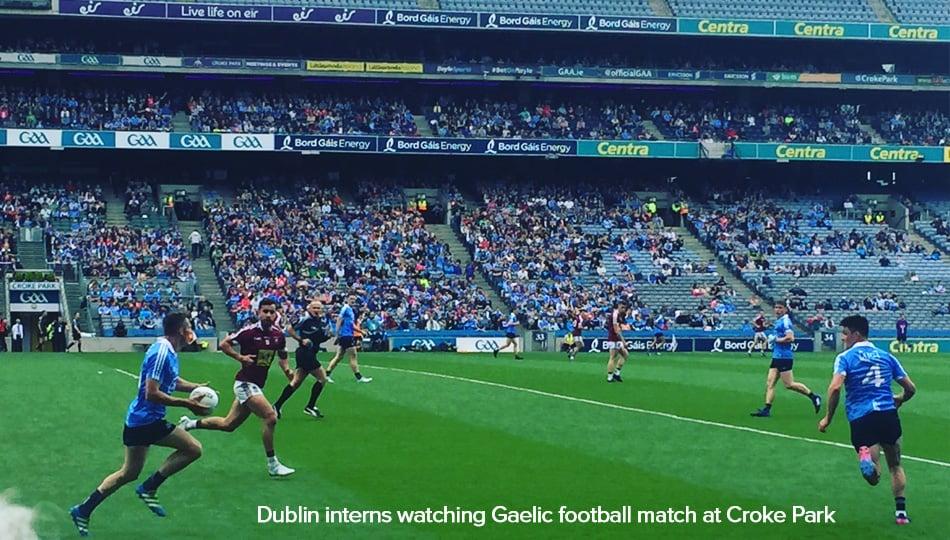 Gaelic Football match