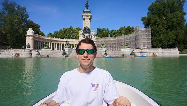 Gabe in Spain