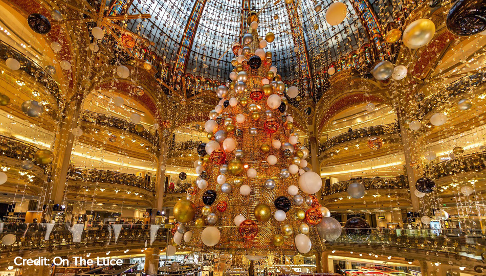 Galaries Lafayette France Christmas