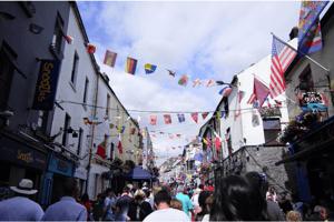 Street in Galway, Ireland