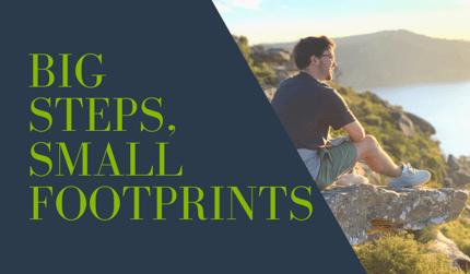 Big steps, small footprints