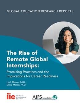 IIE report on virtual internships