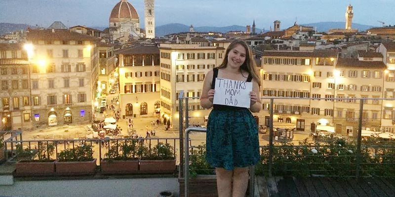 Deb in Florence