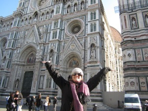 Global Experiences Consultant Chrissie in Florence.