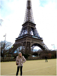 Intern at the Eiffel Tower