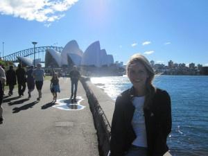 Global Experiences rep Carlie in Sydney