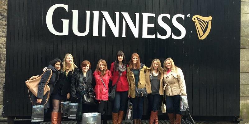 Interns at Guinness