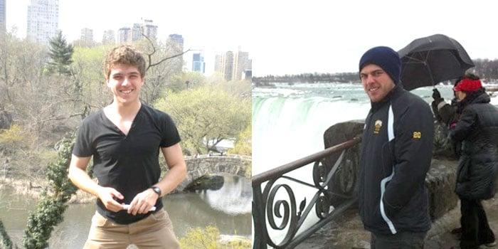 Liam Paddock traveling abroad
