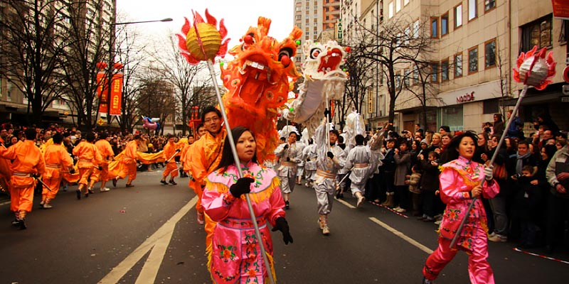 Parisian Chinese New Year