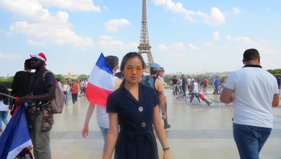 Jenny Paris Eiffel Tower