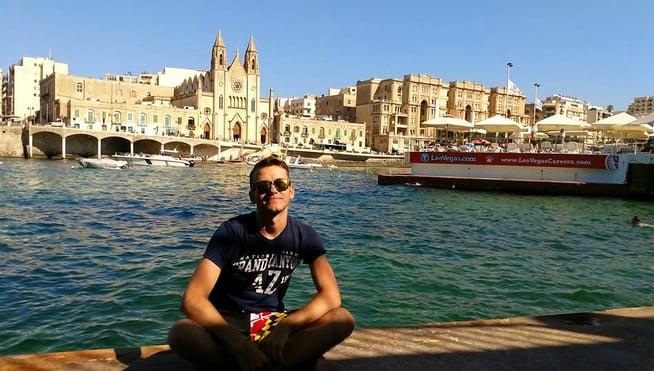 Josiah Traveling Abroad