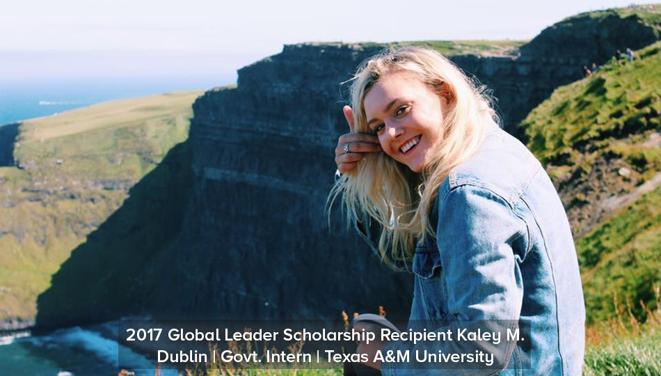 Kaley Scholarship Dublin