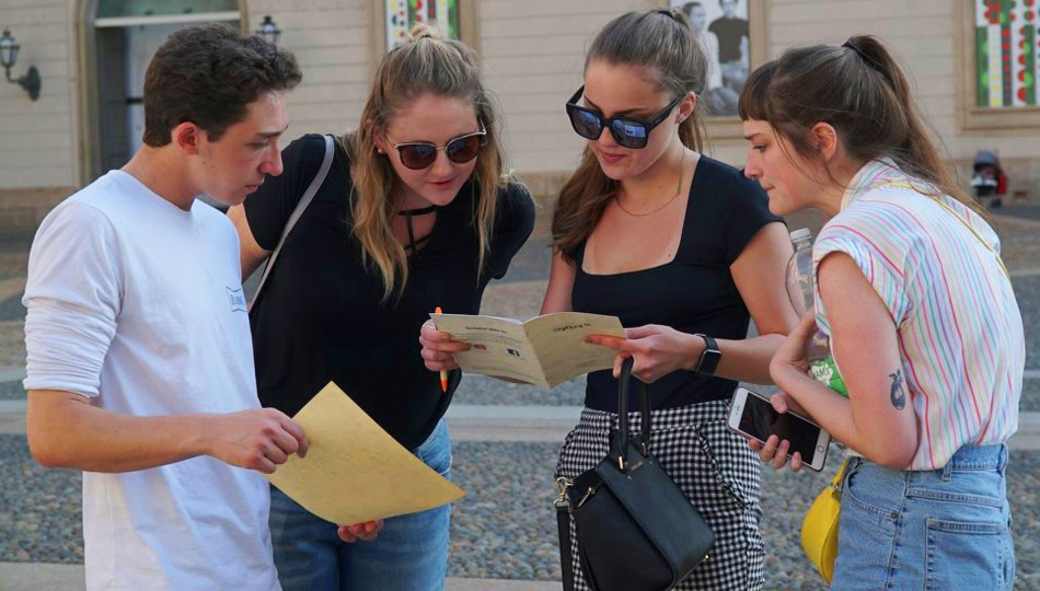 Lost Interns Exploring Milan
