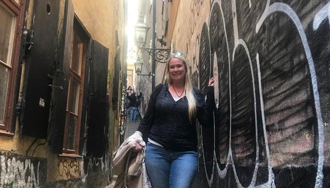 Melissa in Stockholm