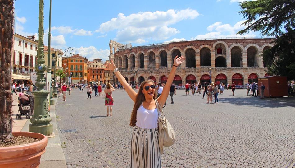 Milan Intern Exploring Italy