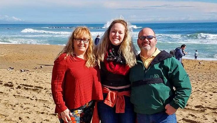 Parents Visiting Barcelona