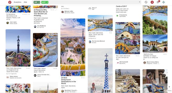 Park Guell Pinterest