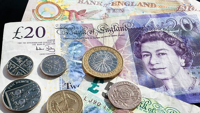London currency pounds