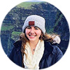 Dublin intern Rachel Y at the Cliffs of Moher