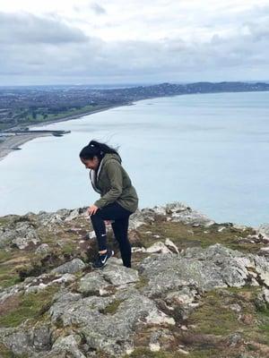 Dublin intern exploring Ireland