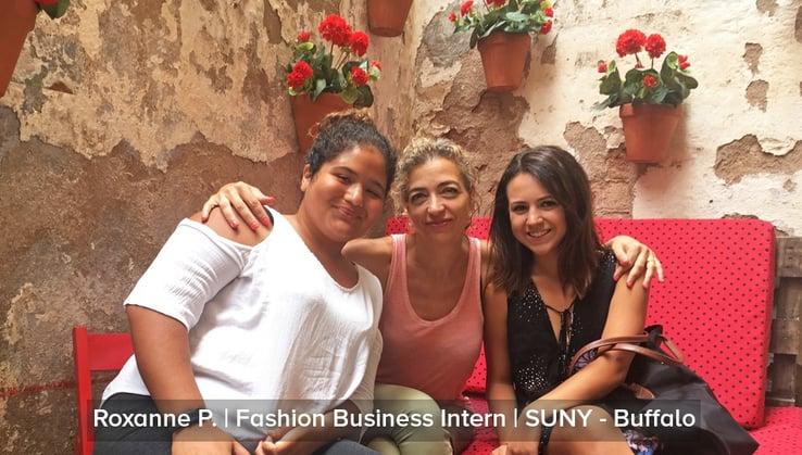 Roxanne Fashion Business Intern