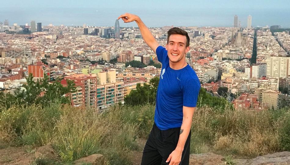Ryan in Barcelona