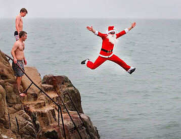 Sandycove Swimming Christmas