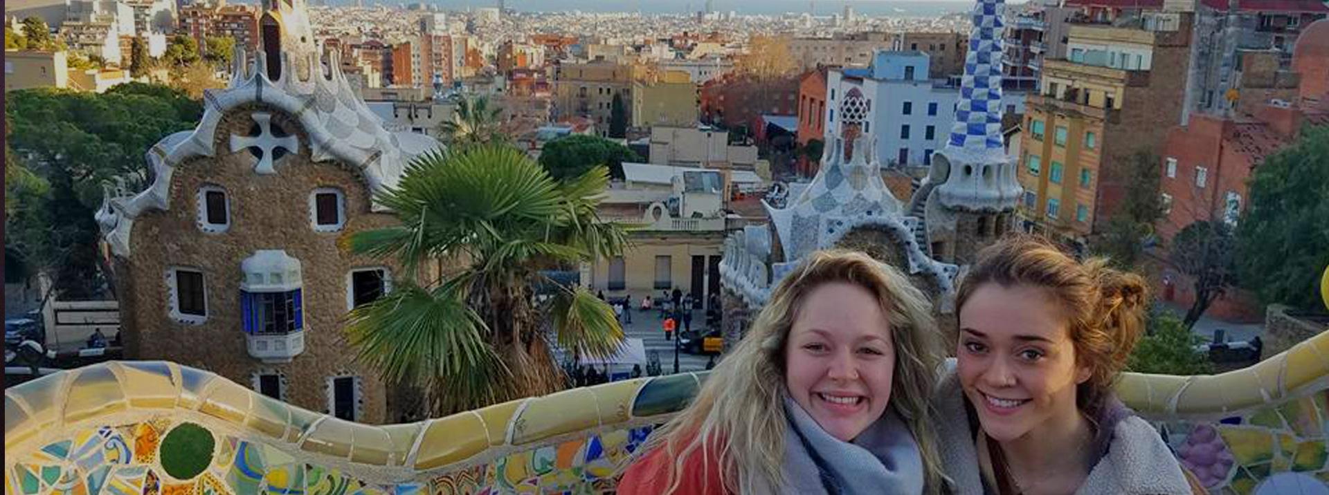Sarah in Barcelona