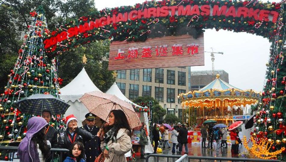 Shanghai Christmas Market