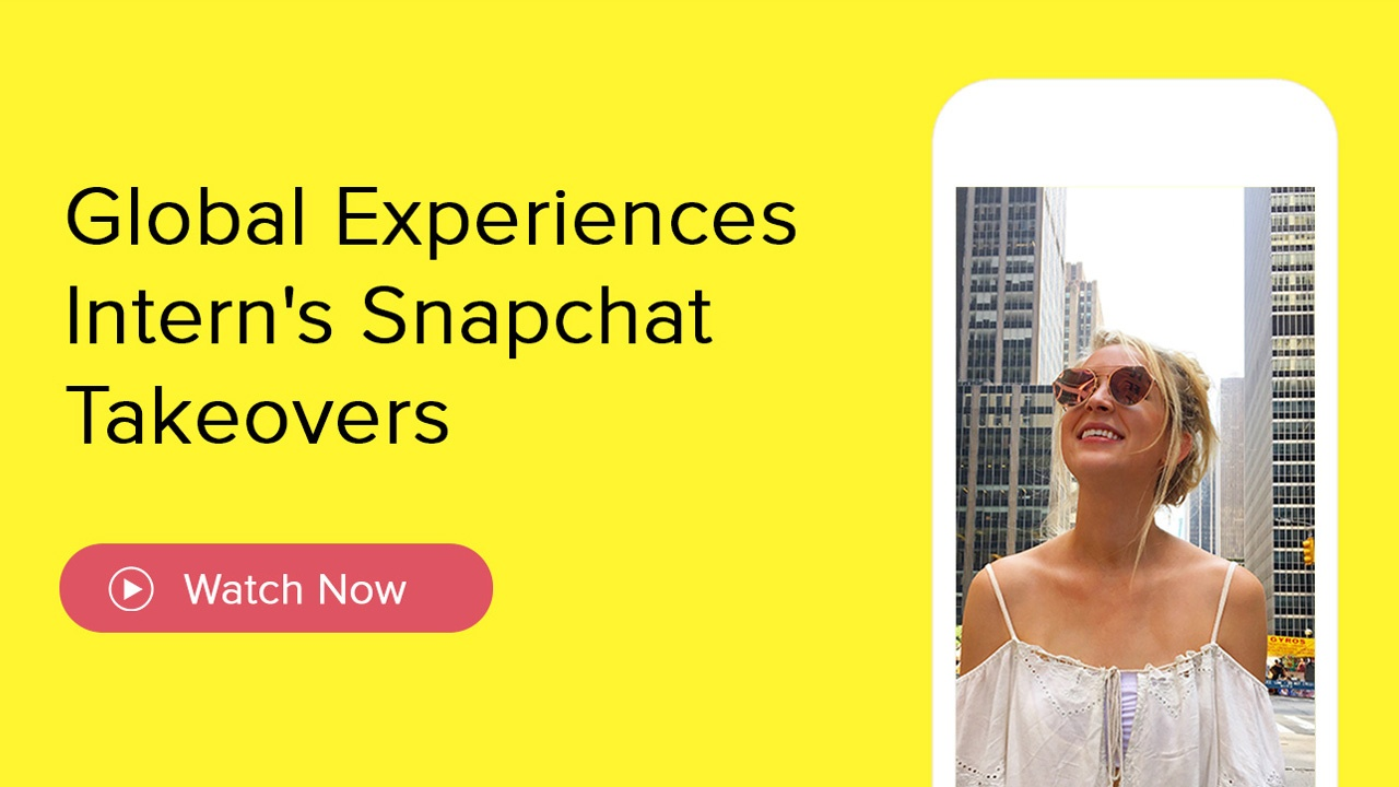 Snapchat Takeovers