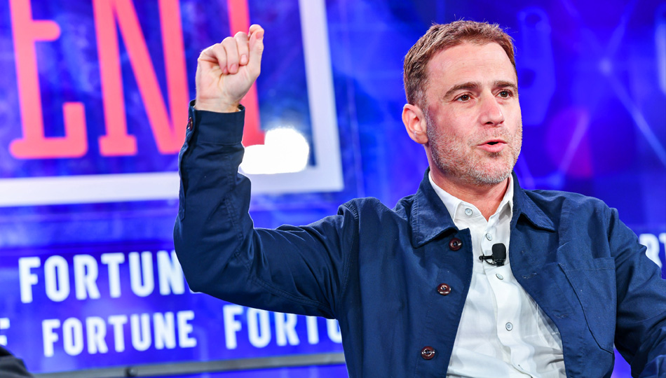 Stewart Butterfield speaking at Fortune Conference