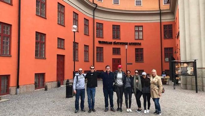 Stockholm Interns on Day Trip