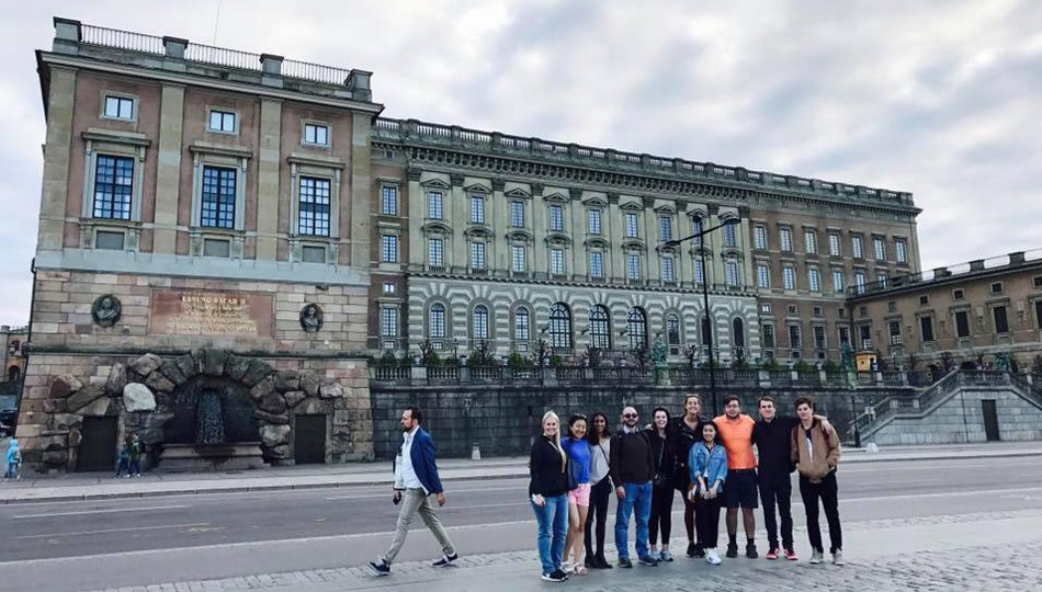 Stockholm Interns at The Palace