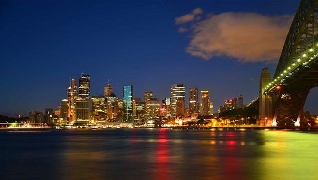 Sydney nighttime